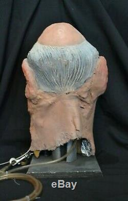 ORIGINAL Spitting Image Puppet President F. W. De Klerk TV Film Prop Head RARE