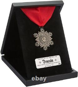 ORIGINAL Universal Monsters Dracula Medallion Limited Edition Prop Replica, NEW