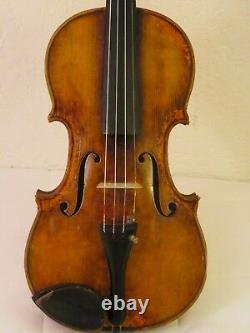 Old vintage violin USED IN A FILM Italian gold color SALE HELPS ORCHESTRA