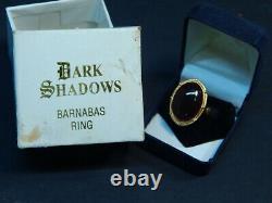 Original Dark Shadows Barnabas Collins Cosplay Ring in Original Box Movie Prop