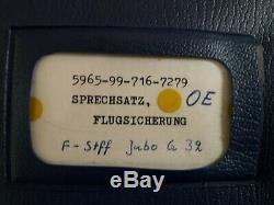 Original Racal Minilite Headset. Star Wars, Alien, Millennium Falcon. With case