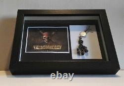 Original Requisite Prop Beads Fluch Karibik Pirates of the Caribbean 2003 + COA