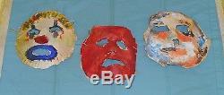 Original Rob Zombie's HALLOWEEN masks lot 04, 05, 06 screen-used movie prop