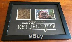 Original Starwars Ewok Fur Return of the Jedi (Wicket) Movie Prop