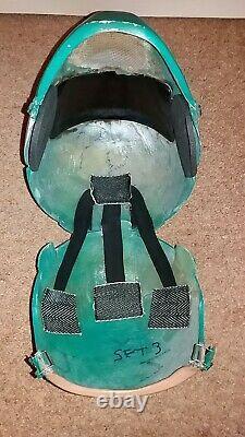POWER RANGERS TURBO Green Turing Helmet Promotional Prop with COA