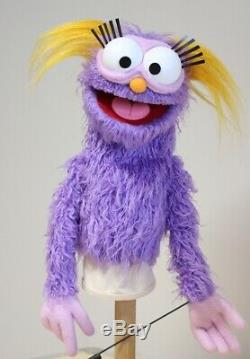 PROFESSIONAL Muppet Style Monster Puppet/ Sesame Street Film Prop