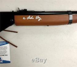 Peter Billingsley RALPHIE A Christmas Story signed Red Ryder prop BB Gun BAS COA