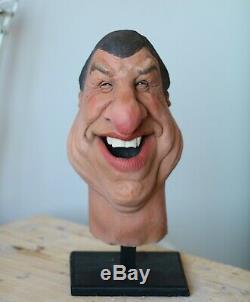 Professional Puppet Original Spitting Image Head TV Prop/Memorabilia