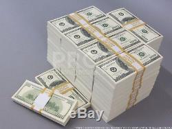 Prop Money $100s $500,000 Blank Filler Play Fake Prop Pack Movie Money