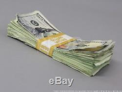 Prop Money $260,000 Blue Style AGED Filler Play Fake Prop Movie Money