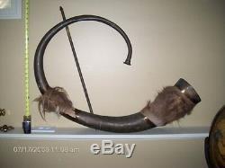 Quo Vadis Ben Hur Julius Caesar movie prop Roman horn cornu musical instrument