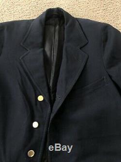 RARE 1910s True Vintage Antique Mens Blazer Sack Jacket 38 40 Movie Prop Gold