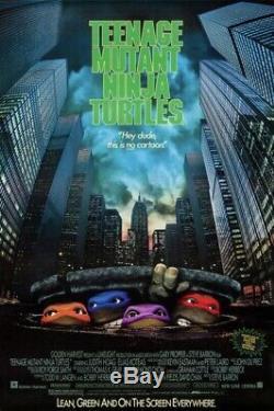 RARE Teenage Mutant Ninja Turtles Movie Donatello Test Head