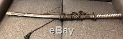 REAL PROP SWORD FROM THE LAST SAMURAI MOVIE STARRING TOM CRUISE With COA