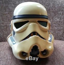 Rare Original Star Wars Stormtrooper Film Movie Prop Promotional Helmet COA