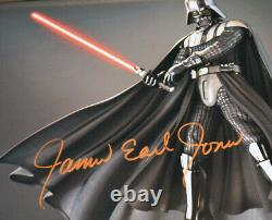 Rare STAR WARS Screen-Used Prop DEATH STAR Signed JAMES EARL JONES, COA DVD UACC