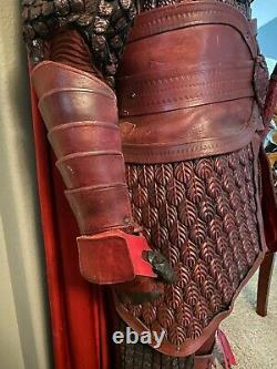 Red Eagle Corps Soldier Armor with Bow Arrow Shield The Great Wall COA Movie Prop