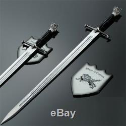 Replica Sword, Prop Movie Replica Game Of Thrones Style Cosplay Swords Steel