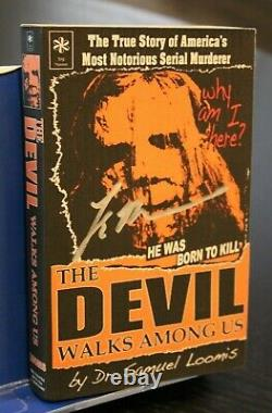 Rob Zombie's Halloween Dr Loomis Book The Devil Walks Among Us JSA Cert