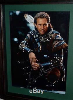 Robin Hood Kevin Costner Arrows Alan Rickman Prop Blu-Ray COA autograph Signed