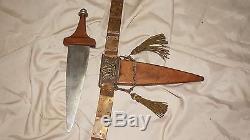 Roman Officers belt & dabber pugio Quo Vadis Ben Hur Julius Caesar movie props