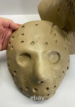 Ryan Bean 11 Bust Jason Voorhees Friday the 13th Part VII The New Blood Resin