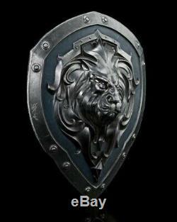 SCREEN USED Warcraft Movie Prop (Alliance Knight Shield) w COA
