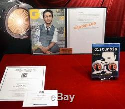SHIA LaBEOUF Signed Autograph, DISTURBIA Movie Prop, DVD, UACC, Transformer, COA