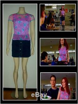 SPIDER-MAN MOVIE PROP Outfit worn by KIRSTEN DUNST as Mary Jane Watson