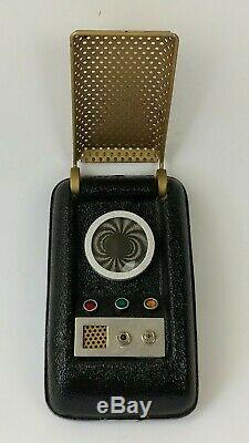 STAR TREK Original Series Communicator Prop Lincoln Enterprises with Box 1985