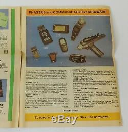 STAR TREK Original Series Phaser Type II Two Prop Lincoln Enterprises Paperwork