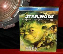 STAR WARS Prop TATOOINE LUKE HOME, Signed JAKE LLOYD, Blu Ray DVD, COA, UACC