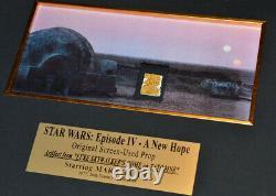 STAR WARS Prop TATOOINE LUKE HOME, Signed MARK HAMILL, COA, DVD Set, UACC