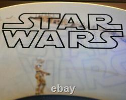 STAR WARS Screen-Used Prop Piece of TATOOINE KRAYT DRAGON, COA, DVD, CASE Light