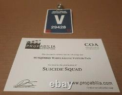 SUICIDE SQUAD Original Screen Used Movie Prop Lot COA Rare Will Smith DC Comic