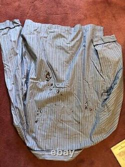 Saw 4 Movie Prop Rex Shirt From Classroom Scene Screen Used With COA
