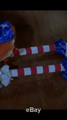 Scary Movie 2 Screen Used Evil Clown Extended Arms