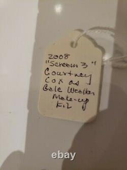Scream 3 Gale Weather's Courtney Cox Movie Used Make Up Kit. Miramax Horror COA