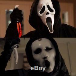 Scream Movie Knife Real Ghostface Killer Metal Film Accurate 11 Scale Prop Mask