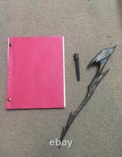Screen Used Movie Prop And Script From Predators