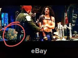 Screen Used Original Prop Pirate Captain Hook's Coat of Arms Movie Peter Pan