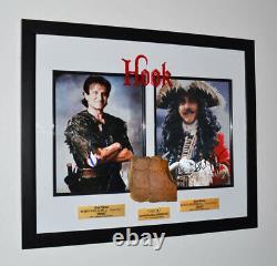 Signed ROBIN WILLIAMS & DUSTIN HOFFMAN Hook Autograph, PROP CROC, DVD, COA, UACC