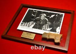 Signed ROBIN WILLIAMS Hook Autograph, PROP CROC, DVD, COA, UACC RD#228