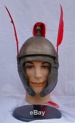 Spartacus Roman Legion Legionnaire Optio Helmet Screen Used Movie Prop Centurion