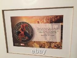 Spider-man 2 Movie Memorabilia Costume Right Arm Piece (2004) Original