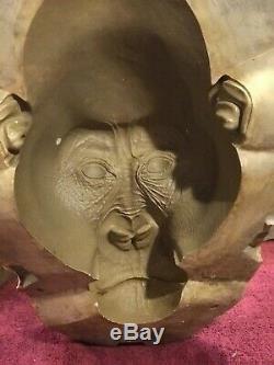 Stan Winston Studio Production Gorilla Head Mold Used For The Movie Congo