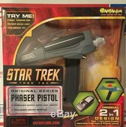 Star Trek Art Asylum / Diamond Select Original Series Modified Phaser Toy Prop