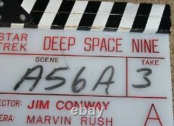 Star Trek DEEP SPACE NINE DS9 TV Clapperboard Clapper Slate Board Clapboard Prop