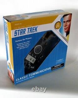 Star Trek Original Series Classic Communicator Authentic Prop Replica NEW FRESH