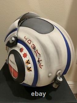 Star Wars Custom Replica LT Bastian Style X-wing pilot Costume helmet Movie Prop